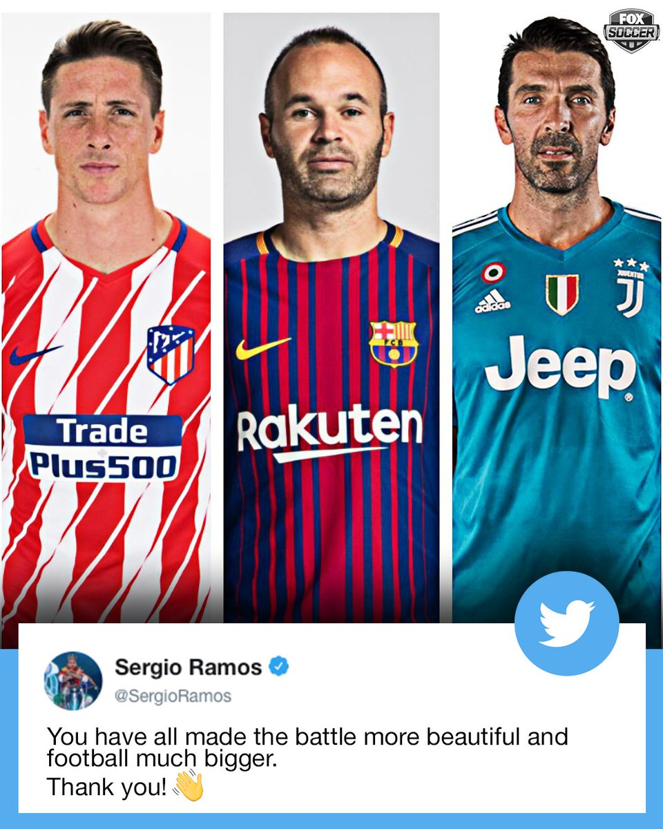 Respect from Sergio Ramos. 👏👏