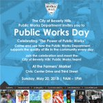 Image for the Tweet beginning: Don't miss Public Works Day