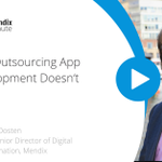 Have you seen our #Mendix one-minute insight videos? Today's video features @arjovanoosten, Global Senior Director of Digital Transformation, about the difference between wanting to build an application or wanting to build a capability to build an app. https://t.co/kv3pBioiS3