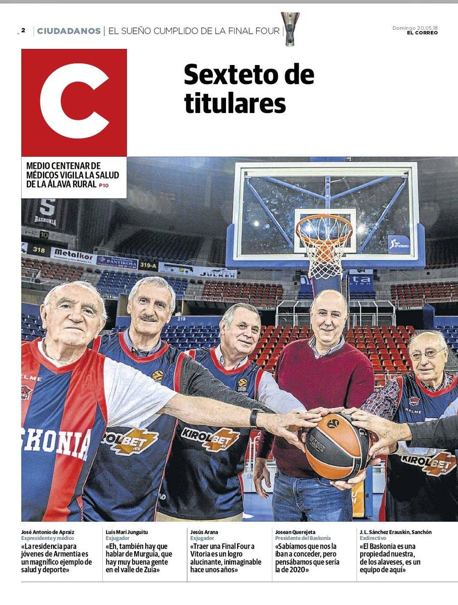 Vitoria-Gasteiz será la sede de la Final Four de la Euroliga de 2019 DdpDv8cVAAANU8T