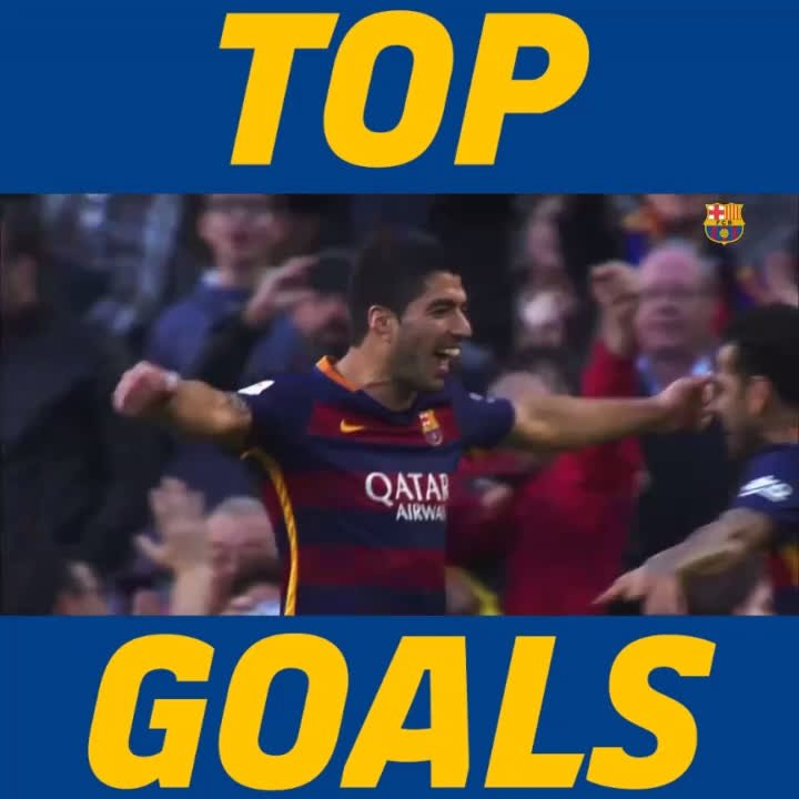 �� TOP GOALS �� ⚽️ #BarçaRealSociedad ⚡ @LuisSuarez9  �� @_Pedro17_  �� Leo #Messi https://t.co/nrl6UgEEeW
