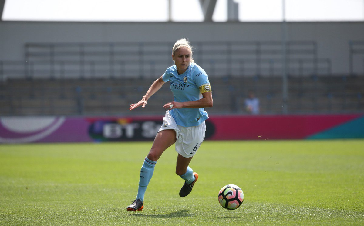 FT | 💙 3-0 ⚪️ #mancity   Job done as we confirm second place in the @FAWSL and @UWCL football for next season!  Well done, girls! 🙌
