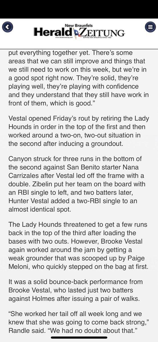 NB Canyon Softball on Twitter: