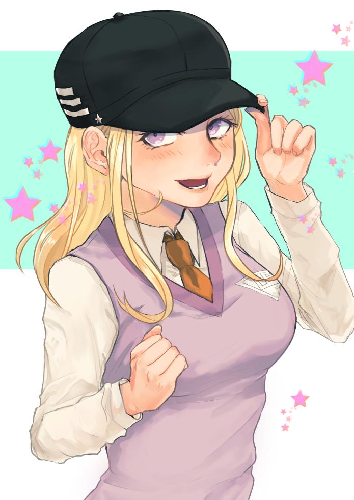 「最原くんの帽子、一度被ってみたかったんだよね。どう?似合うかな?」