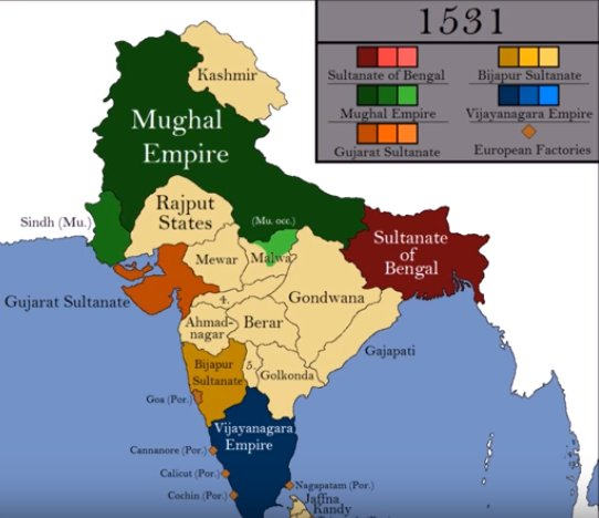 On Twitter In 1600s During Rise Of Mughal Empire There Was
