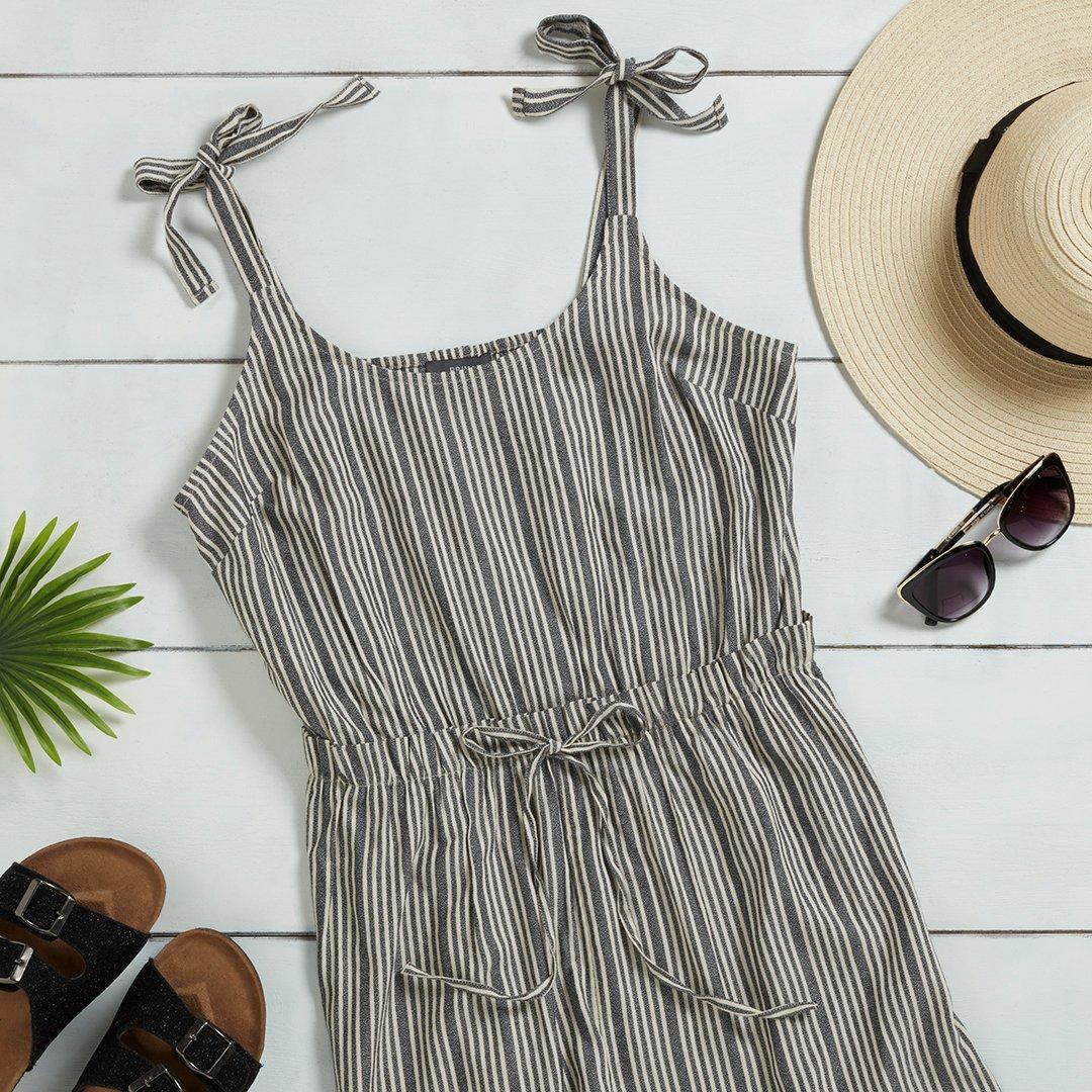 Stripe season ☀️ Jumpsuit €12/$14 #Primark #summer