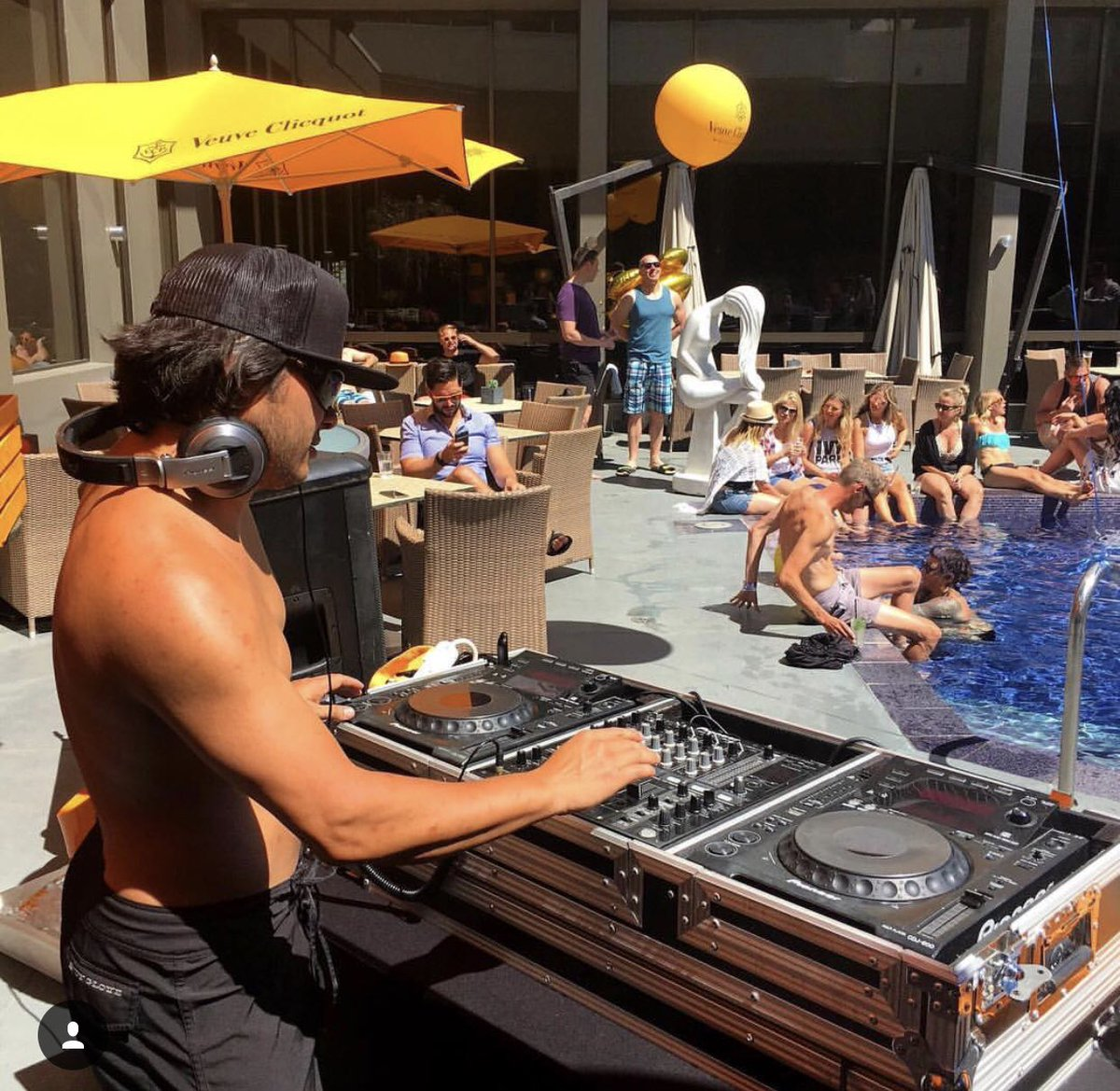 "Hotel Arts ar Twitter: ""Who's ready for a day spent on our Poolside Patio  eating and drinking all the deliciousness from our new weekend Poolside  Patio menu? We have DJ Cary Chang"