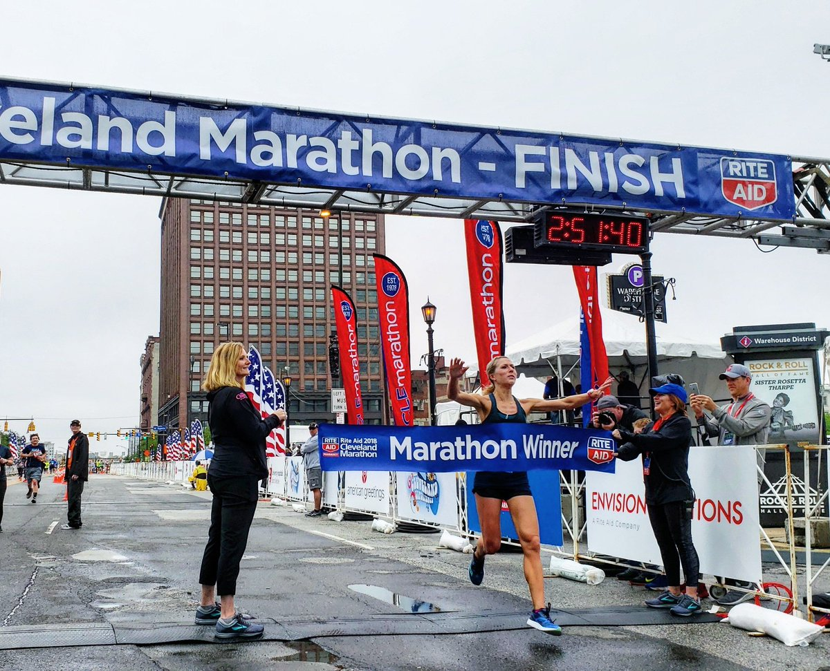 Congratulations to Westlake's Sarah Horbol, winner of the Women's Marathon, and everyone who ran.