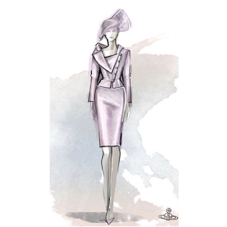 Purple reign  @FollowWestwood #PhilipTreacy #MimiCuttrel @PatiDubroff #HarryAndMeghan https://t.co/zrA9mh1RLu