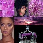 Image for the Tweet beginning: Purple reign  @FollowWestwood #PhilipTreacy #MimiCuttrel