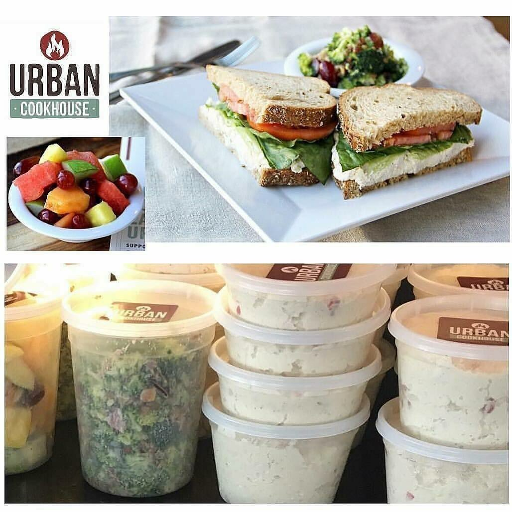 Urban cookhouse on twitter did you know you can grab a tub of our serve with crackers or make your own yummy sandwiches other delicious options ready in grab and go tubs broccoli salad fruit turkey slices tea solutioingenieria Gallery