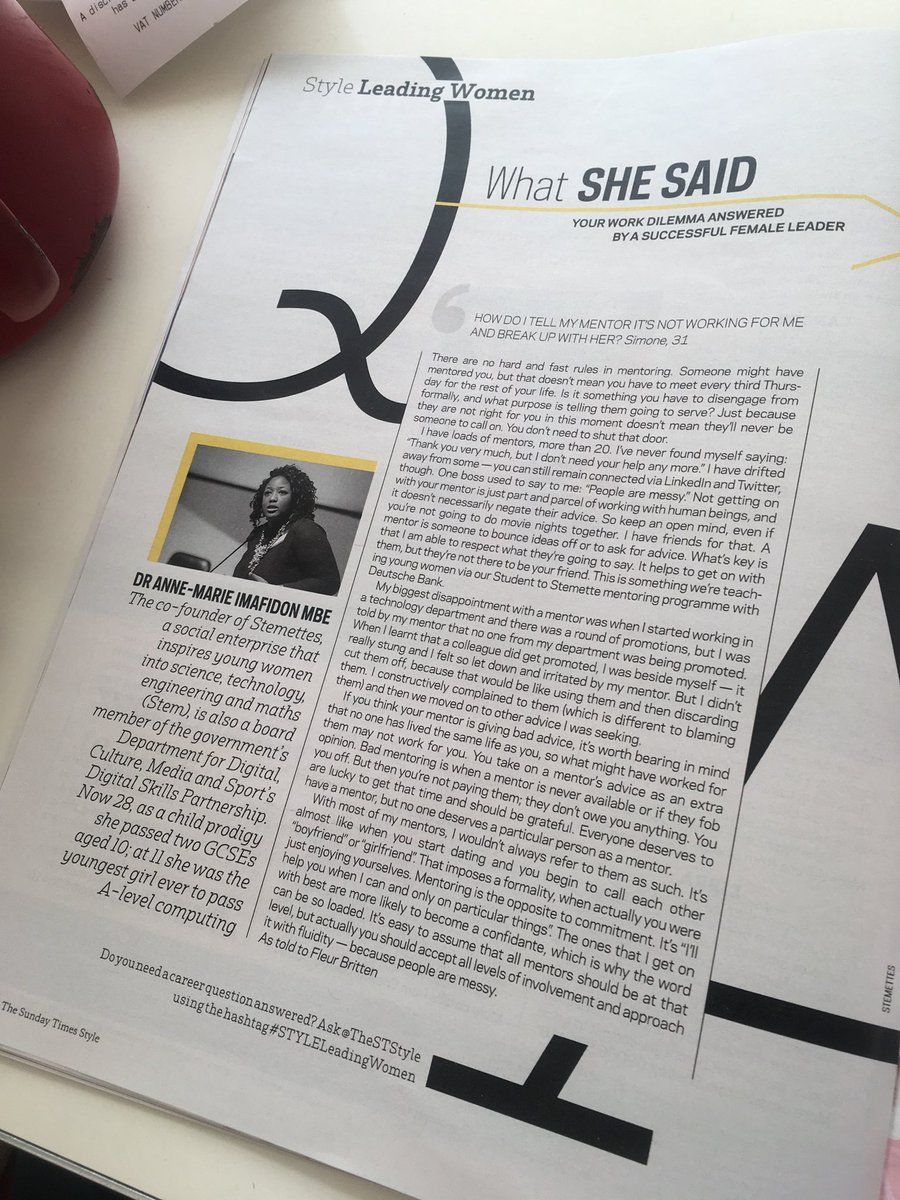 Futuregirlcorp on twitter fgc og aimafidon theststyle the fgc og aimafidon theststyle the head of stemettes gives the download on how to approach mentorship read what she said about pre launch perception at ccuart Gallery