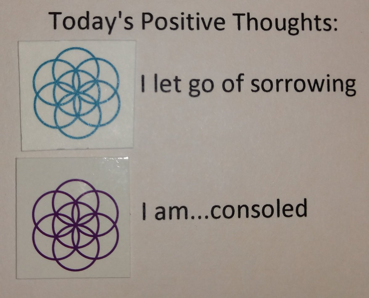 test Twitter Media - Today's Positive Thoughts: I let go of sorrowing and I am...consoled. #affirmation https://t.co/8skVwG4N6G
