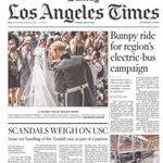 Image for the Tweet beginning: Two big @latimes investigations on
