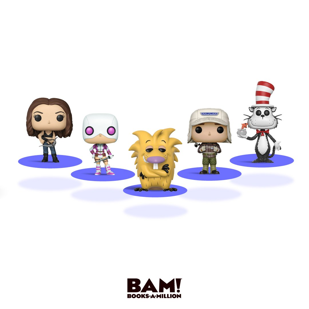 #Online only! Buy 2, get the 3rd free on #select @Funko POPs now at #BooksAMillionDotCom bit.ly/2KEgzxp