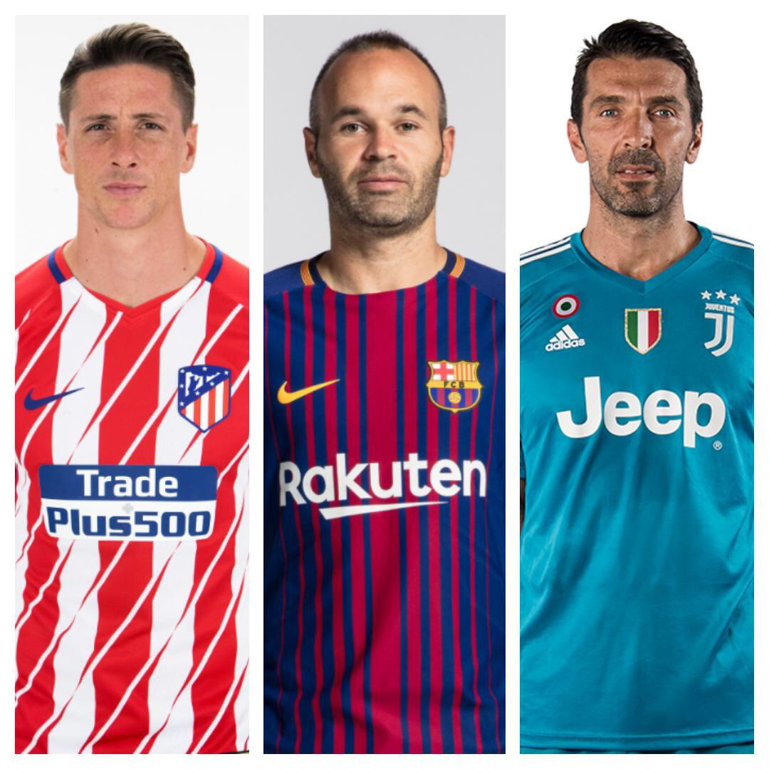 Habéis hecho más bonita la batalla y mucho más grande el fútbol. You have all made the battle more beautiful and football much bigger.  ¡Gracias! 👋 Thank you! 👋 @Torres @andresiniesta8 @gianluigibuffon