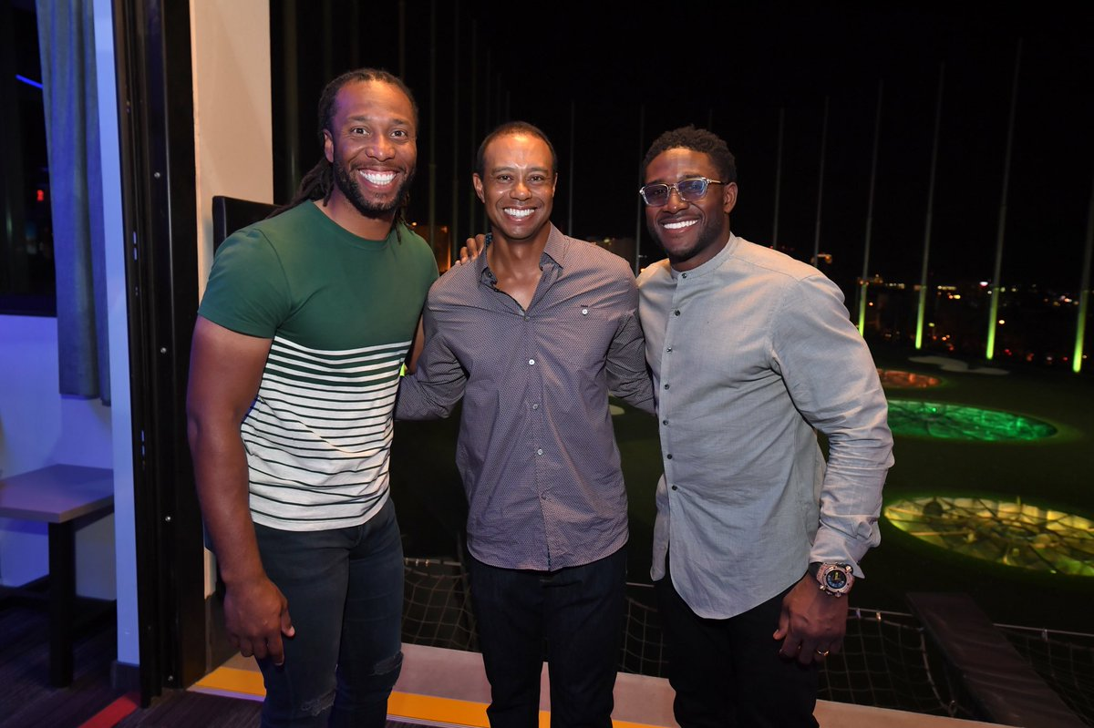 Thank you @LarryFitzgerald, @ReggieBush and all of the guests who came out to #TigerJam to support @TGRFound this weekend!