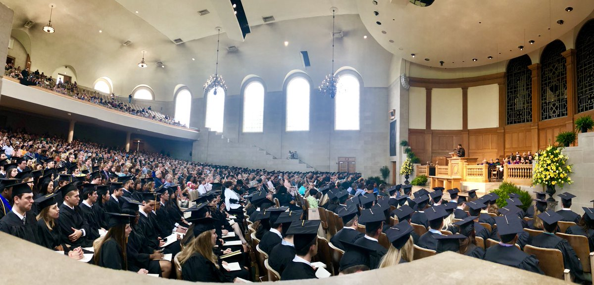 .@carlaannharris of @MorganStanley   with a remarkably engaging and relevant message for @WakeForestBiz graduates and new @WFUAlumni this morning! #wfugrad @WakeForest