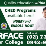 Image for the Tweet beginning: TESDA Programs available here! Enroll