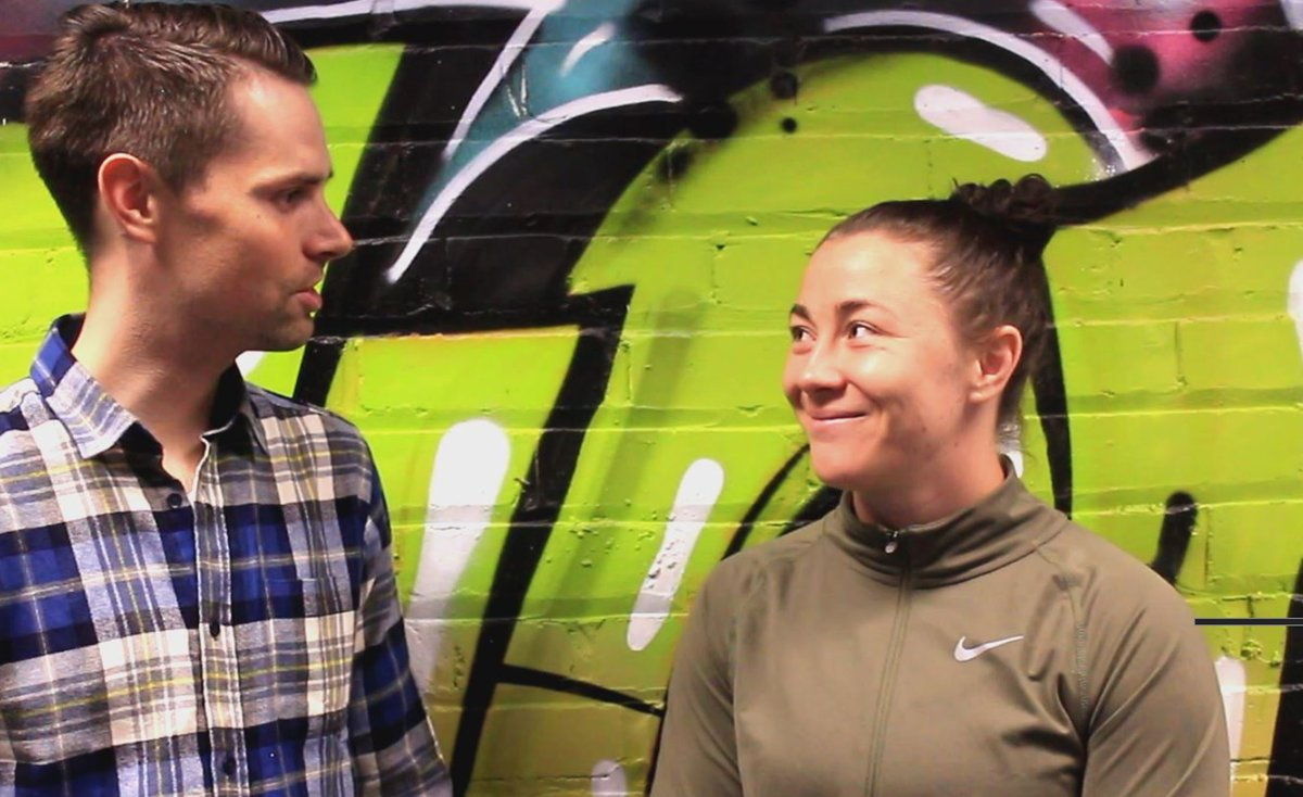 Exclusive pre-fight #UFCLiverpool interview with @MeatballMolly McCann  This time next week, Molly will make history by becoming the first Liverpudlian to fight in the UFC at the @EchoArena... &quot;This is for my city&quot;  Watch https:// youtu.be/ZyFLaq7byg4  &nbsp;    #UFC #MMA #Liverpool <br>http://pic.twitter.com/qqcaZ0g6ZX