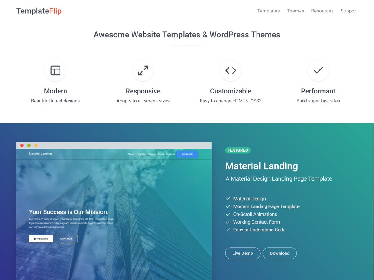 Templateflip On Twitter A Redesigned Httpstco