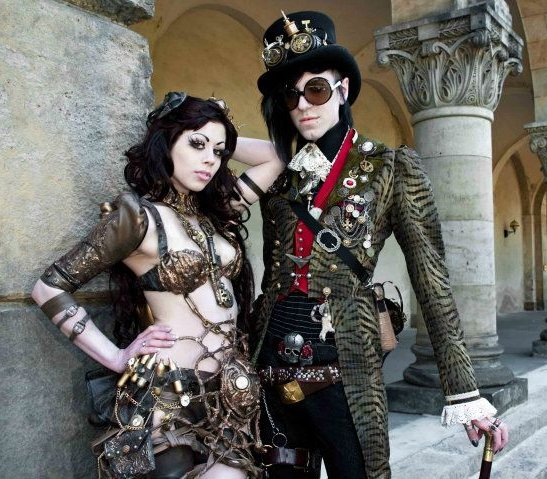 """What's the """"punk"""" in #steampunk? The authors weigh in: https://t.co/D7sxVdYxIQ #amwriting #amwritingscifi"""