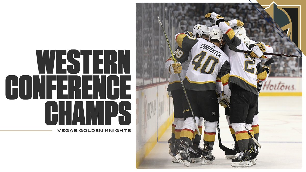 WOW.  In their first season as an NHL franchise, the Vegas Golden Knights will be playing for the Stanley Cup!