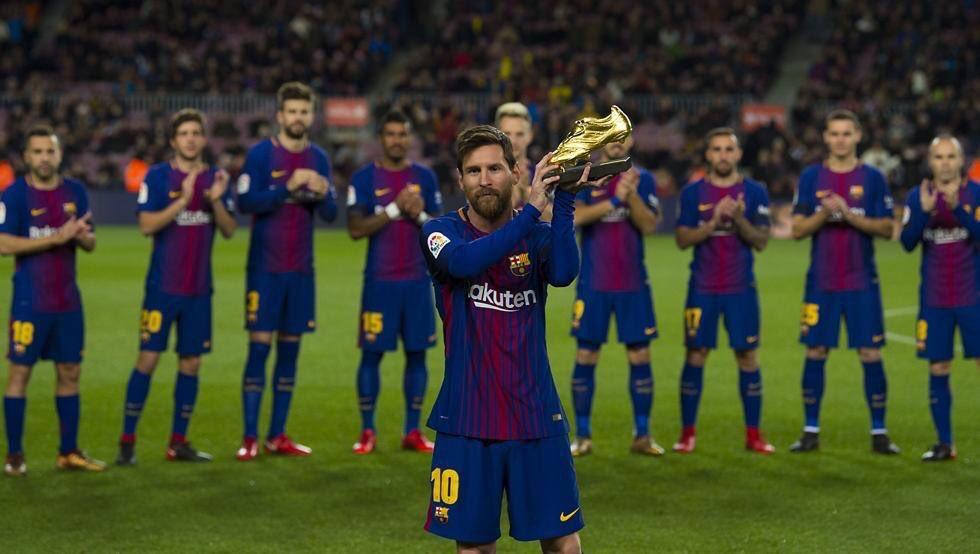 Lionel Messi ashinda tuzo na kuweka rekodi barani Ulaya