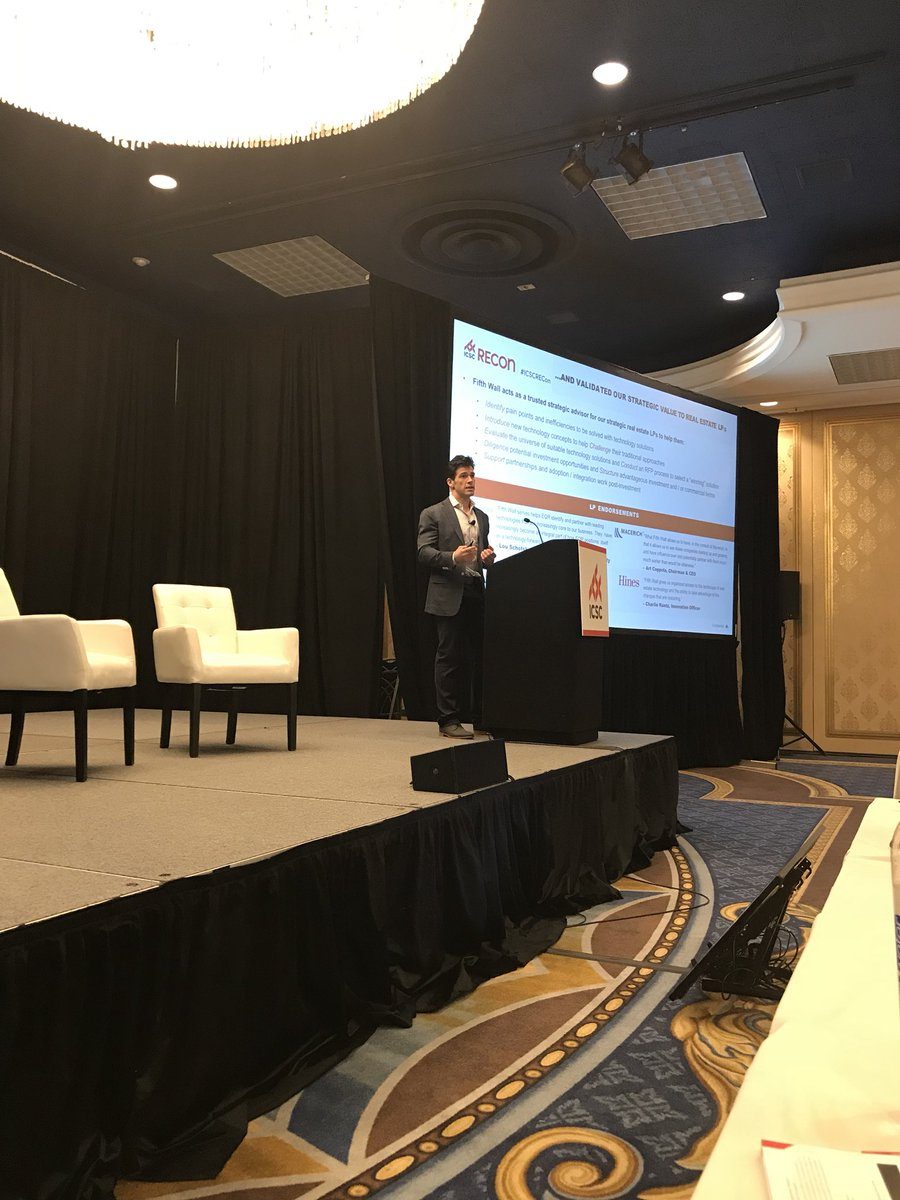 """""""Retail is a large and growing market... and the number of new brands launching has exploded"""" states @BrendanFWallace of @fifthwallvc at @ICSC RECon  #retail #cretech<br>http://pic.twitter.com/OP6UUjoZPJ"""