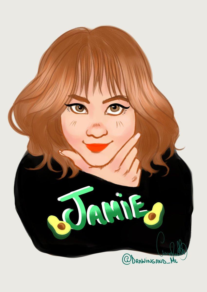 My fanart for a beautiful girl @jiminpark07    #drawing #fanart #Jamie #digitaldrawing<br>http://pic.twitter.com/3EZ8UnSZK0