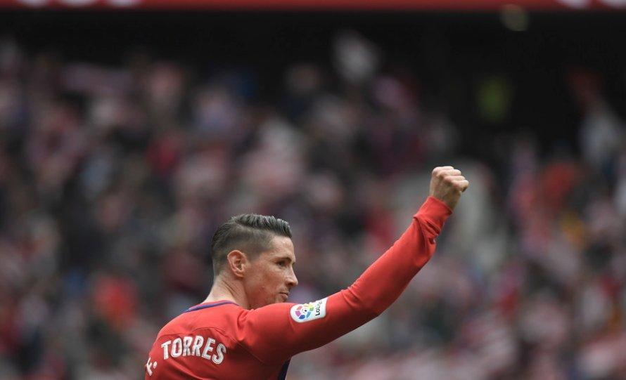 ¡Qué manera de despedirse!  Fernando Torres el gol número 101 de su carrera en #LaLiga en su último partido con @Atleti