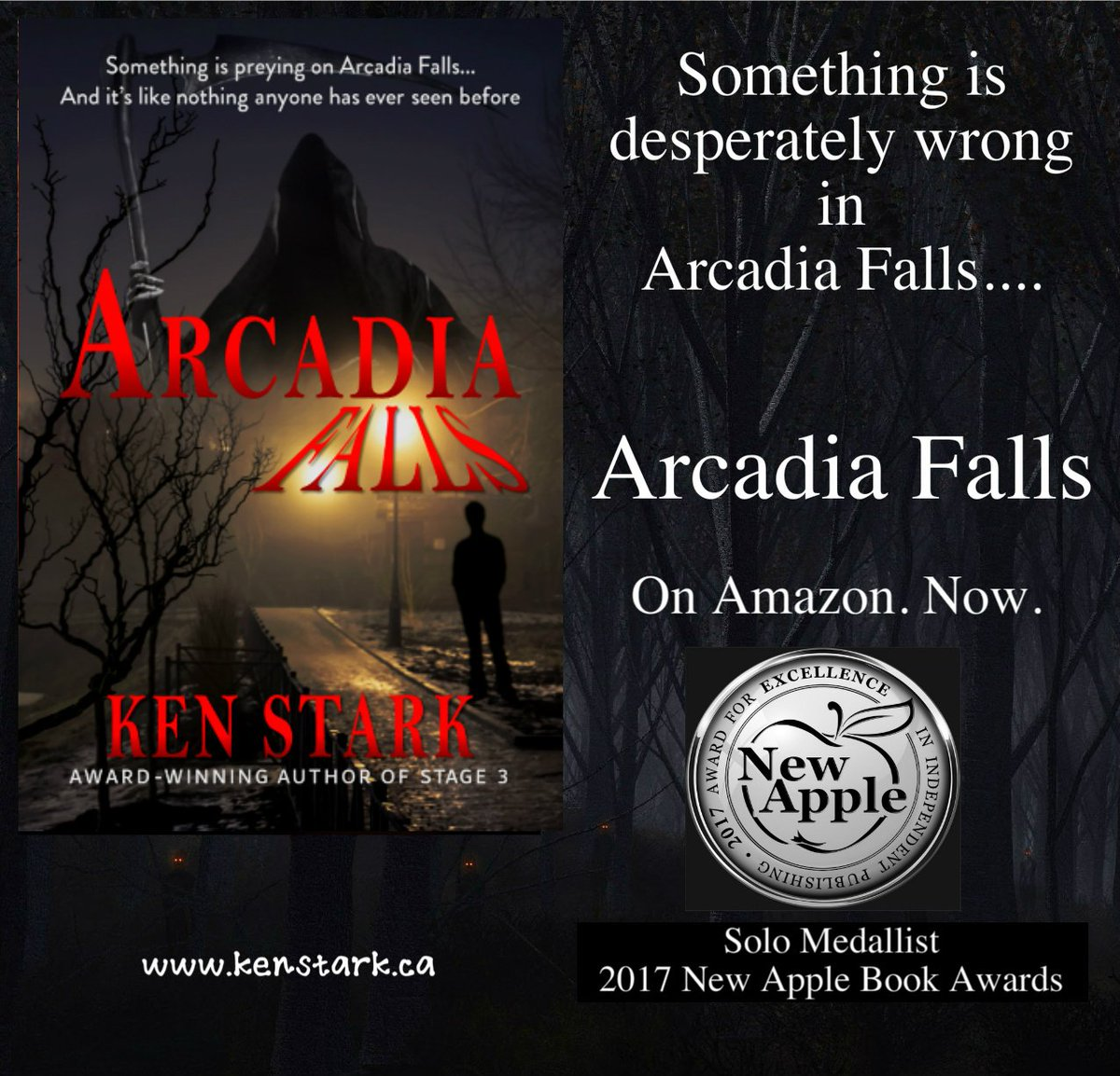 &quot;It&#39;s like he vanished off the face of the Earth...&quot;   http:// amazon.com/dp/B077VVQVL4  &nbsp;   #horror #mystery #paranormal #monster #thriller #IARTG @NewAppleAwards #ArcadiaFalls #FREE w/ #KindleUnlimited<br>http://pic.twitter.com/hyV331IIB7