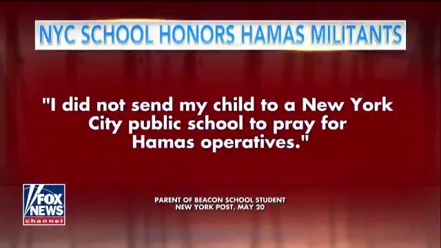 New York City school holds moment of silence after violence in Gaza, outraging some parents https://t.co/JPki5zU84w