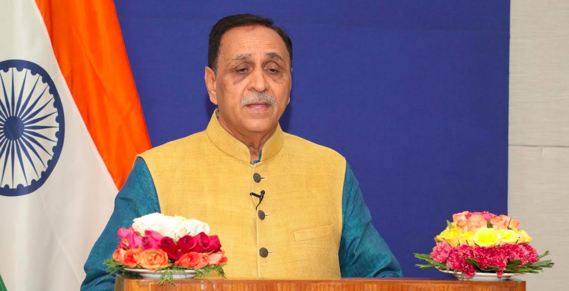 Rupani asks NRGs in USA to support  'Jal Sanchay Abhiyan' in Gujarat