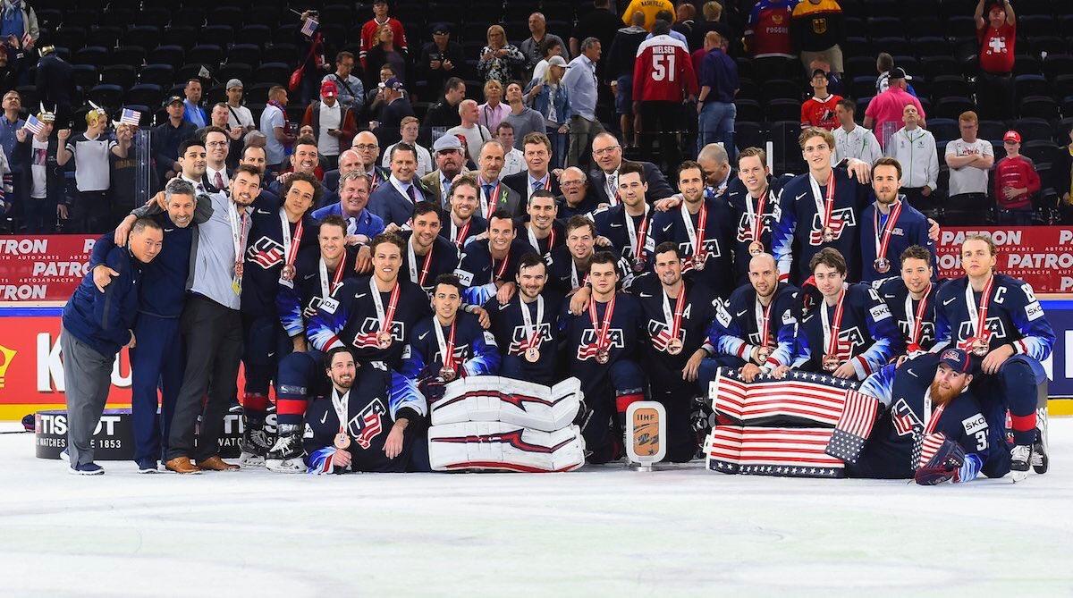 Amazing experience representing @usahockey