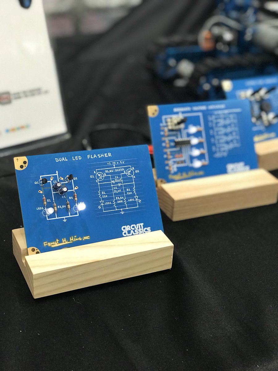 Digi Key Electronics On Twitter We Are Showcasing Circuitclassics Electronic Circuit By Starsandrobots At Our Makerfaire Booth A Great Product That Brings The