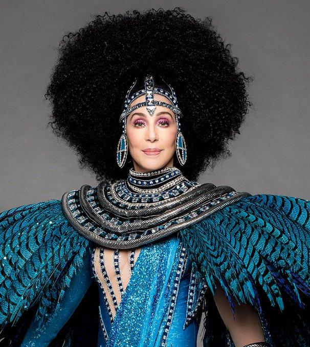 Happy birthday, Cher