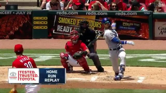 .@javy23baez just hit this to the moon. #Crushed