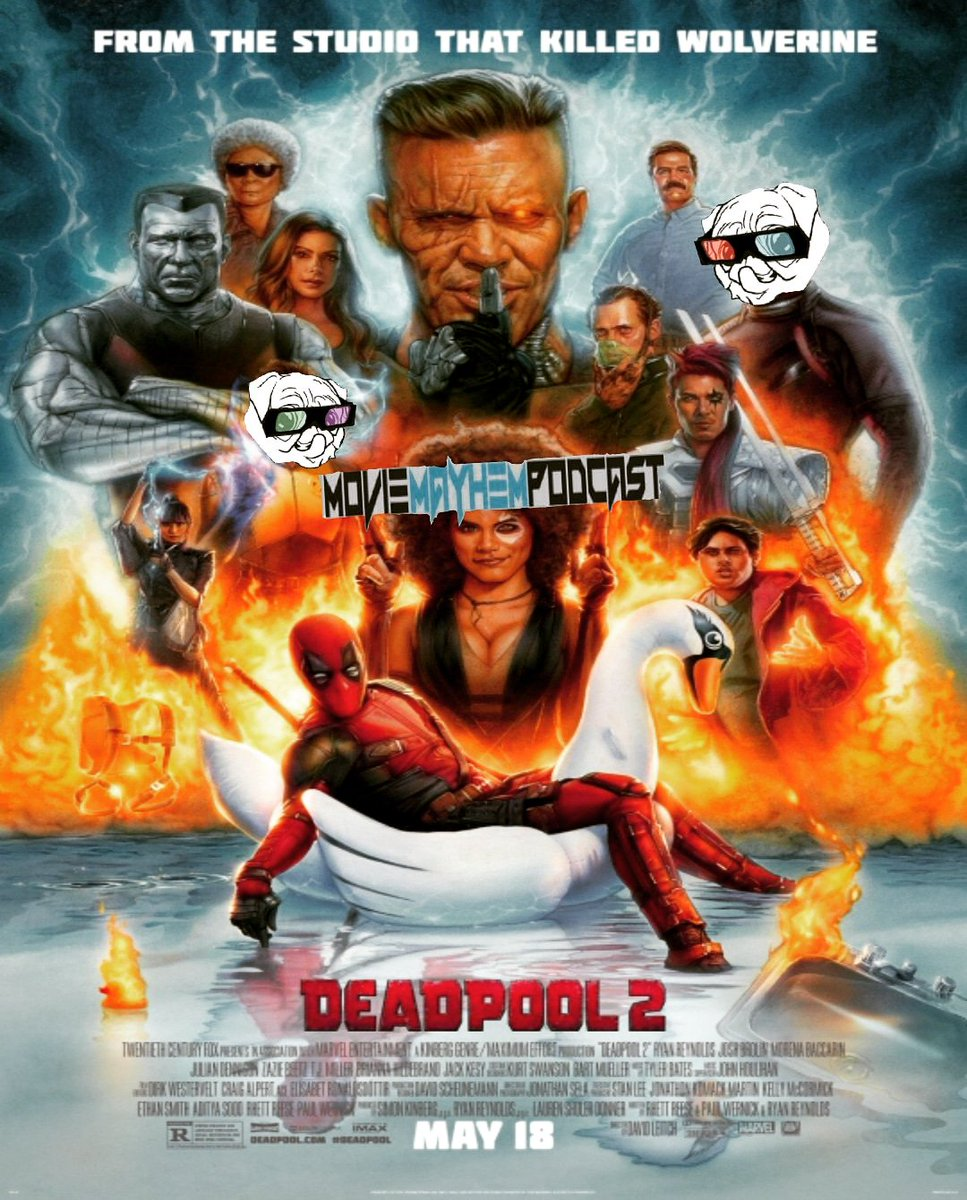 Movie Mayhem Podcast's photo on #Deadpool2