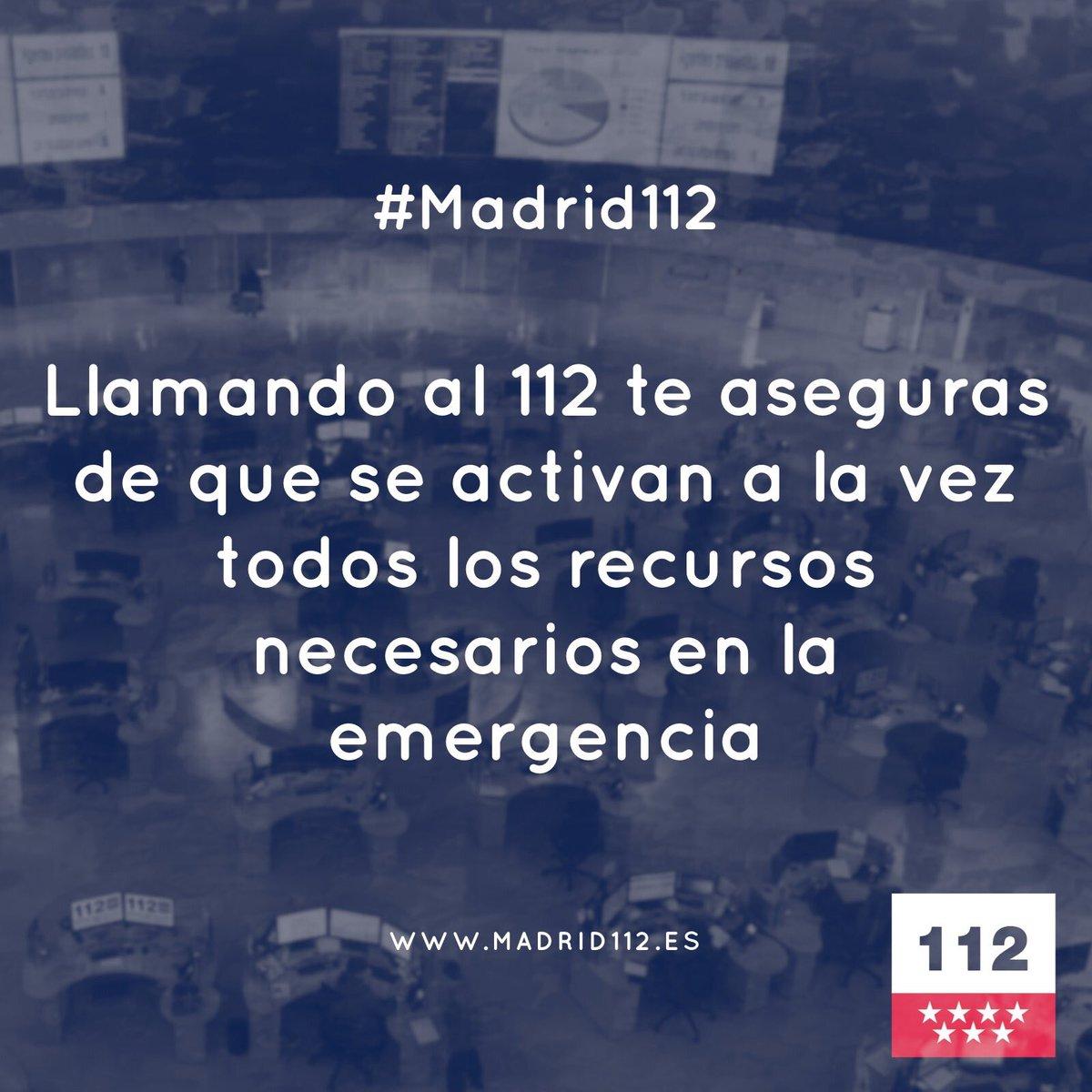 112 Comunidad Madrid On Twitter El 1 1 2 Es Un Número De Atención