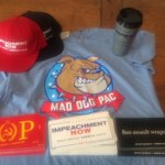 Image for the Tweet beginning: My personal swag box arrived.