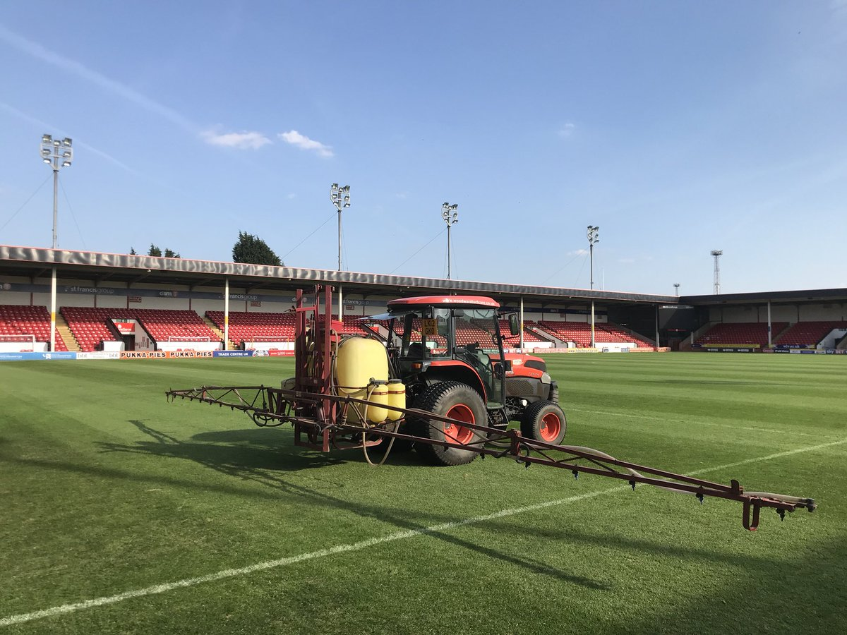 Banks's Stadium: Pitch Renovations Well Underway