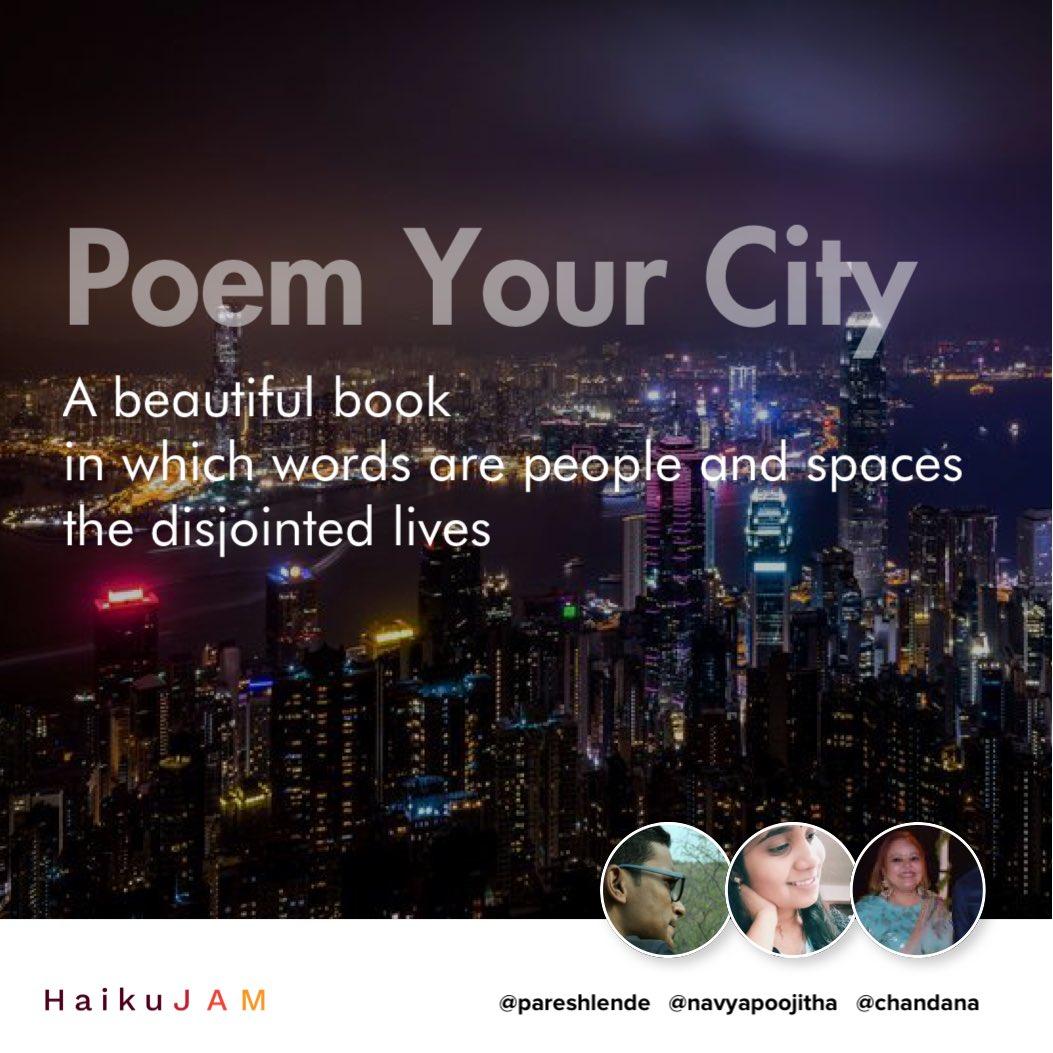 Poem Your City Paresh, Navya &amp; Chandana in @haikujam  http:// poems.haikujam.com  &nbsp;    #PoemYourCity <br>http://pic.twitter.com/Ix36bzxjhN