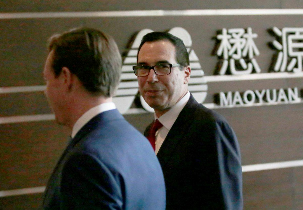 U.S., China putting trade war on hold, Treasury's Mnuchin says https://t.co/5hfEKTgb5C