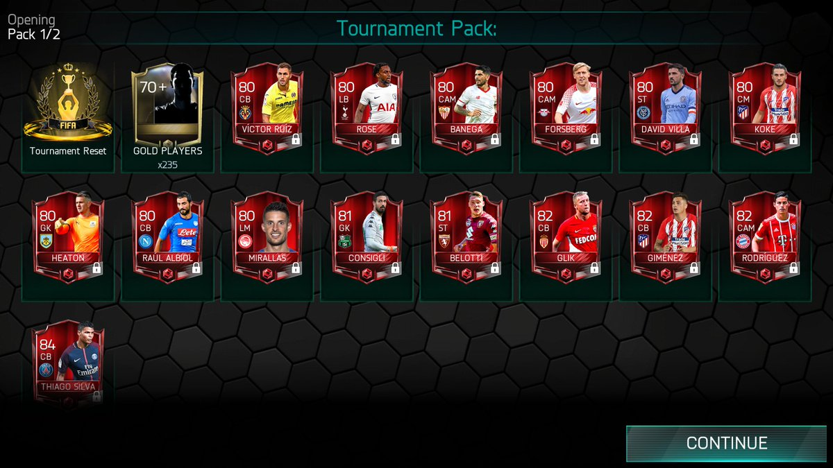 The reward this week was 🔥 #fifamobile