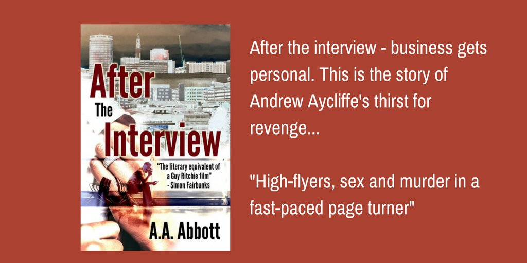 Planning a #holiday, #BrumHour? Don&#39;t forget to take a good read with you - like fun, fast #crime #thriller &quot;After The Interview!&quot;!  https://www. amazon.co.uk/After-Intervie w-AA-Abbott-ebook/dp/B00LBE1GPW &nbsp; … <br>http://pic.twitter.com/J8xUIMBfUD