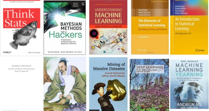 10 Free Must-Read Books for #MachineLearning and #DataScience  by @mattmayo13 @kdnuggets |   http:// bit.ly/2nLZkTM  &nbsp;    #AI #ArtificialIntelligence #ML #Programming #Data #Algorithms #DeepLearning #DL #eBooks #RT  cc: @strataconf @goodfellow_ian @andrewyng @mgualtieri @simonlporter<br>http://pic.twitter.com/s0BsLPzyGI