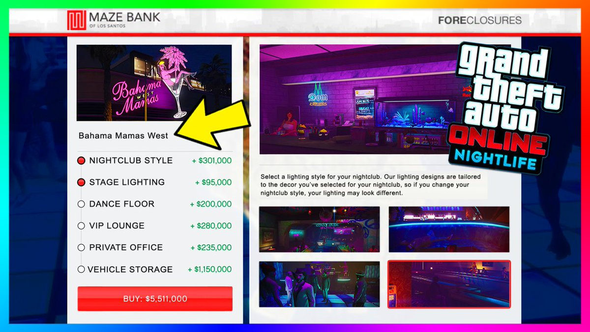 #GTAOnline Nightlife Update: Nightclub Features - Vehicle Storage, Club Management &amp; MORE!  https:// youtu.be/DrFAhGuBW8k  &nbsp;  <br>http://pic.twitter.com/54rt8rqWhD