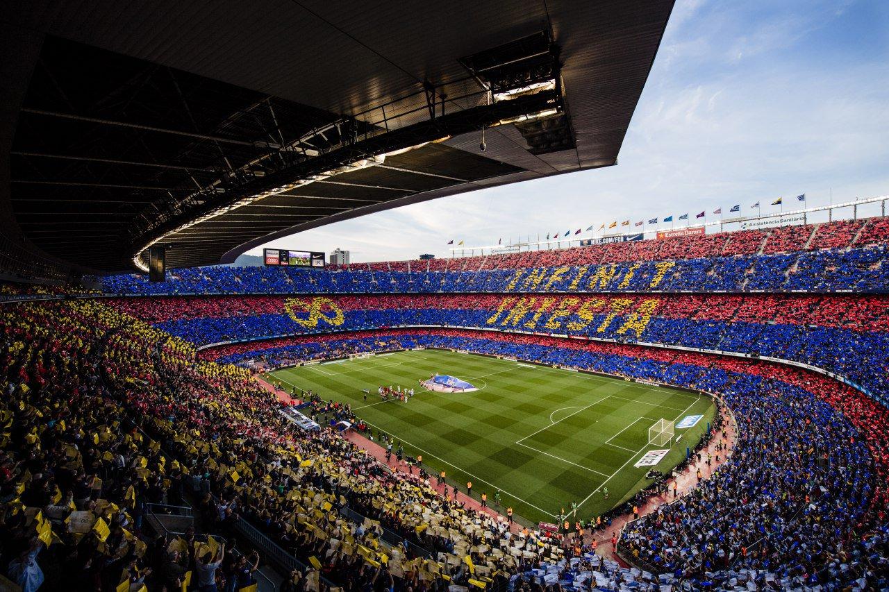 �� The mosaic. ������ Barça Fans #infinit8iniesta https://t.co/xGb8hxwnT9