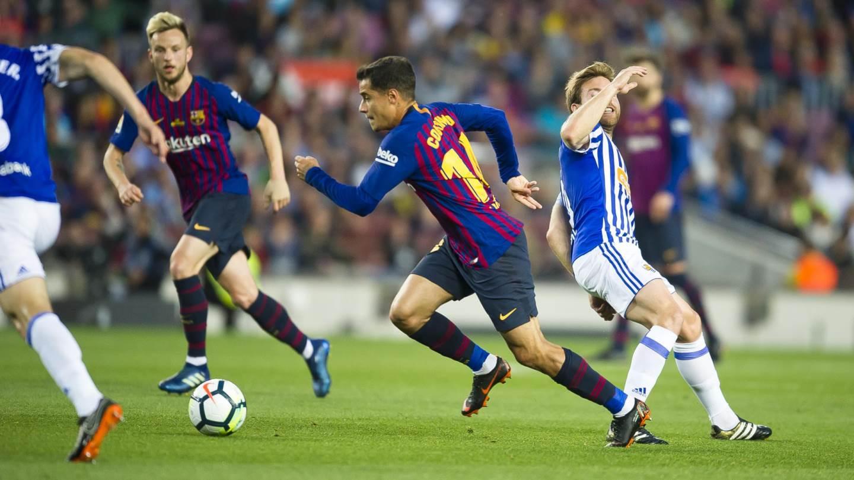 ⏰ Comença la segona part! FC Barcelona 0-0 Reial Societat �� Som-hi, Barça!  ⚽ #BarçaRealSociedad https://t.co/mIMJhvNP5O
